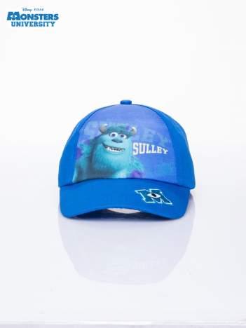 Granatowa chłopięca czapka z daszkiem UNIWERSYTET POTWORNY