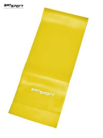 Żółta guma do rozciągania poziom łatwy