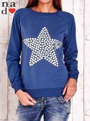 Ciemnoniebieska bluza z gwiazdą