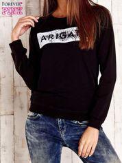 Czarna bluza z napisem ARIGATO