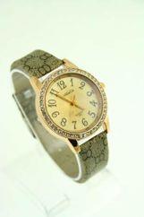 Elegancki damski zegarek z cyrkoniami
