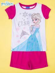 Fuksjowa piżama dla dziewczynki KRAINA LODU