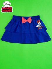 Granatowa spódnica dla dziewczynki z falbanami MINNIE MOUSE