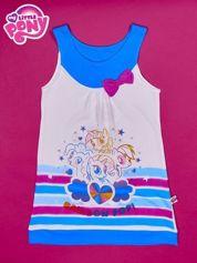 Niebieska sukienka dla dziewczynki bez rękawów MY LITTLE PONY