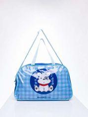 Niebieska torba dla dzieci DISNEY z pieskiem