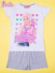 Różowa piżama dla dziewczynki BARBIE