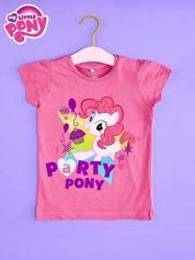Różowy t-shirt dla dziewczynki nadruk MY LITTLE PONY