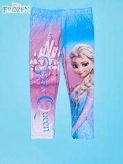 Wielokolorowe legginsy dla dziewczynki KRAINA LODU