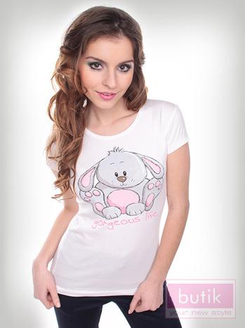 Bluzka z królikiem