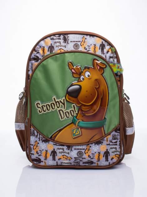 Brązowy plecak szkolny DISNEY Scooby Doo