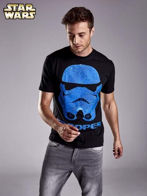 Czarny t-shirt męski STAR WARS