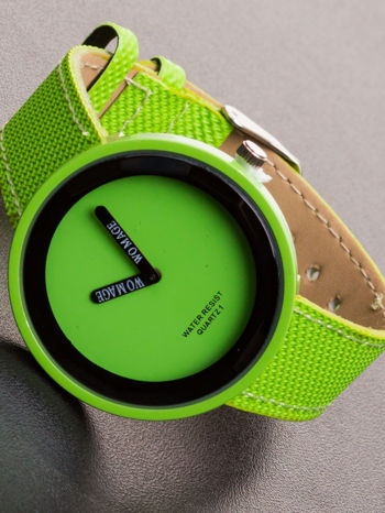 Damski zielony zegarek