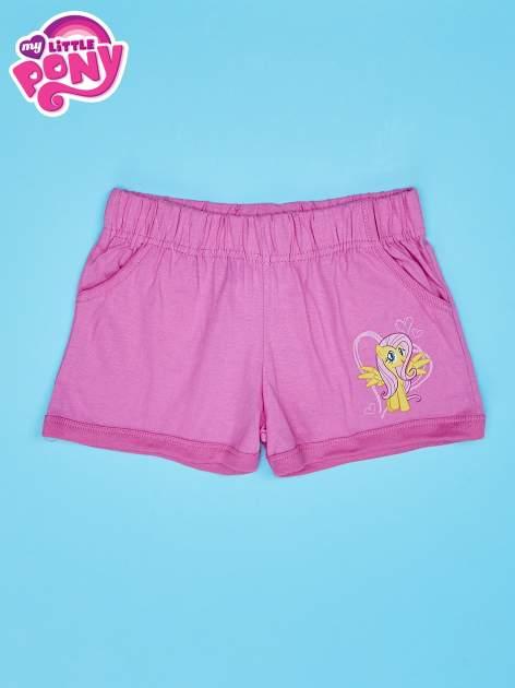 Różowe szorty dla dziewczynki MY LITTLE PONY