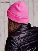 Różowa czapka beanie FUNK N SOUL