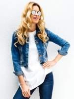 Srebrne okulary przeciwsłoneczne LENONKI lustrzanka