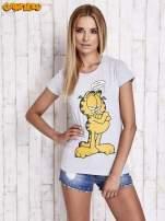 Szary t-shirt GARFIELD