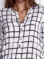 TOM TAILOR Biała koszula w kratę