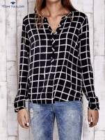 TOM TAILOR Czarna koszula w kratę