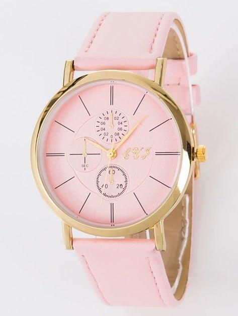 Zegarek damski jasnoróżowy                                  zdj.                                  1
