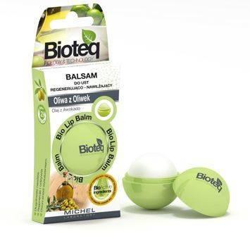 BIOTEQ Balsam do ust Regenerująco - Nawilżający Oliwa z Oliwek 8,5 g