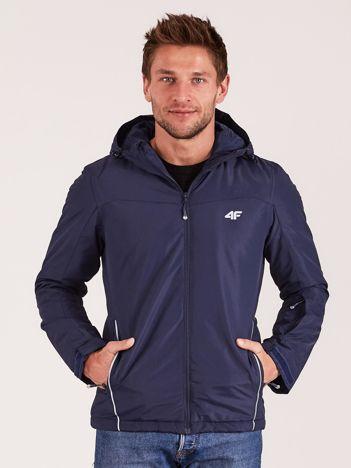 4F Granatowa kurtka narciarska dla mężczyzny