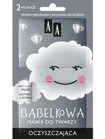 AA CHMURKA bąbelkowa maska do twarzy oczyszczająca 8 ML (2 aplikacje)