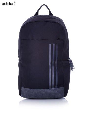 ADIDAS Czarny plecak szkolny z bocznymi kieszonkami