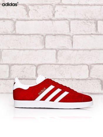 ADIDAS Czerwone buty sportowe damskie Gazelle
