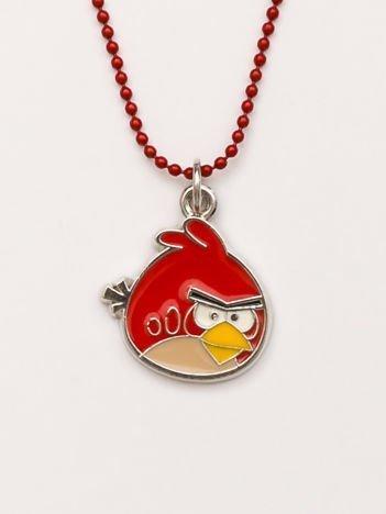 ANGRY BIRDS Czerwony naszyjnik kulkowy