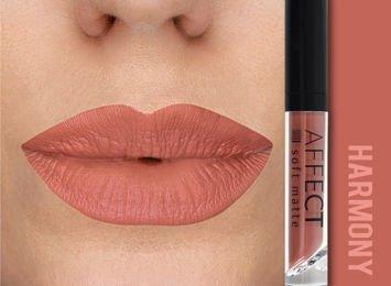 Affect Pomadka w płynie Liquid Lipstick Soft Matte Harmony 5 ml