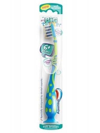 Aquafresh Szczoteczka do zębów dla dzieci My Big Teeth  6+  1 szt.