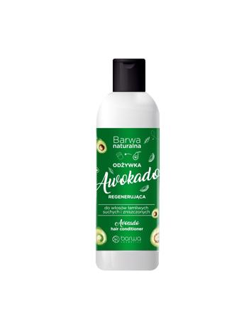 """BARWA Naturalna Awokado Odżywka regenerująca do włosów suchych,łamliwych i zniszczonych 200ml"""""""
