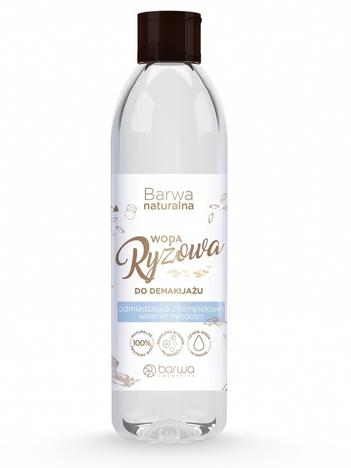 BARWA Naturalna Woda Ryżowa do demakijażu odmładzająca 300 ml