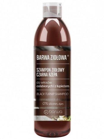 BARWA Ziołowa Szampon do włosów Czarna Rzepa - włosy osłabione i z łupieżem 250 ml