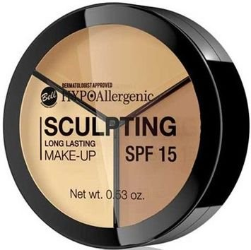 BELL HYPOAllergenic Hypoalergiczny podkład do konturowania twarzy Long Lasting Sculpting Make-Up 01