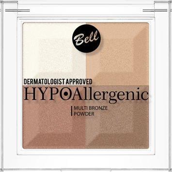 BELL HYPOAllergenic Hypoalergiczny puder brązująco-rozświetlający Multi Bronze Powder 01