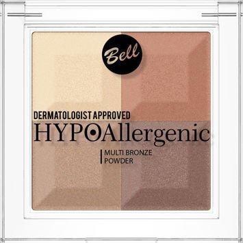 BELL HYPOAllergenic Hypoalergiczny puder brązująco-rozświetlający Multi Bronze Powder 03