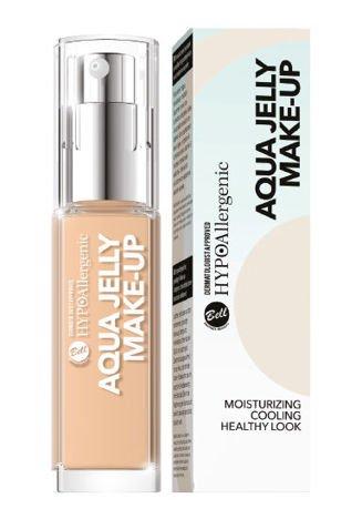 BELL HYPOAllergenic Podkład Nawilżająco-Matujący Aqua Jelly Make-Up 03
