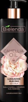 BIELENDA CAMELLIA OIL Luksusowe mleczko do ciała 400 ml