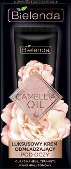 BIELENDA CAMELLIA OIL Luksusowy krem odmładzający pod oczy 15 ml