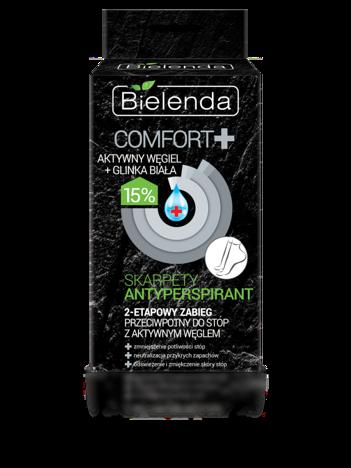 BIELENDA Comfort 2-etapowy zabieg antyperspiracyjny do stóp 20 ml