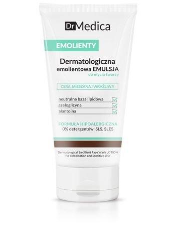 BIELENDA Dr Medica EMOLIENTY Dermatologiczna emolientowa emulsja do mycia twarzy, cera mieszana i wrażliwa 150 ml