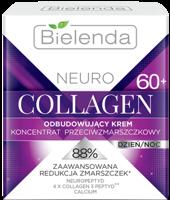 BIELENDA NEURO COLLAGEN Odbudowujący krem – koncentrat przeciwzmarszczkowy 60+ dzień/noc 50 ml