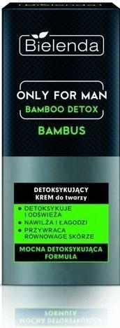 BIELENDA ONLY FOR MEN Detoksykująco-odświeżający krem do twarzy BAMBOO DETOX 50 ml