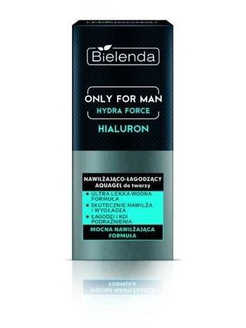 BIELENDA ONLY FOR MEN Nawilżająco-łagodzący krem do twarzy HYDRA FORCE 50 ml