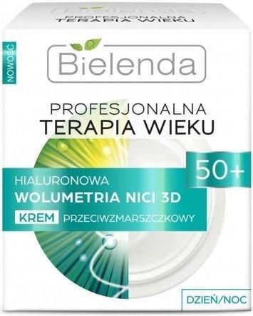 BIELENDA PROFESJONALNA TERAPIA WIEKU Hialuronowa Wolumetria NICI 3D Krem przeciwamzrszczkowy 50+ dzień/ noc 50 ml