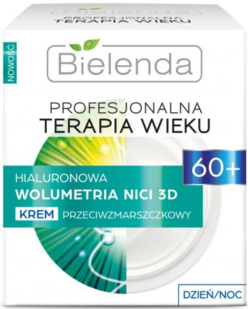BIELENDA PROFESJONALNA TERAPIA WIEKU Hialuronowa Wolumetria NICI 3D Krem przeciwzmarszczkowy 60+ dzień/noc 50 ml