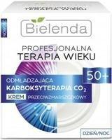 BIELENDA PROFESJONALNA TERAPIA WIEKU Odmładzająca Karboksyterapia CO₂ Krem przeciwamzrszczkowy 50+ dzień/ noc