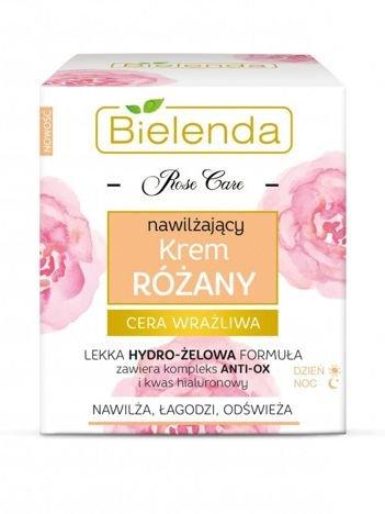 BIELENDA ROSE CARE Krem różany nawilżająco-kojący 50 ml
