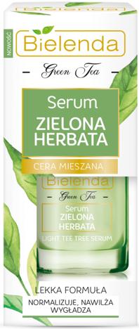 BIELENDA ZIELONA HERBATA Serum do cery mieszanej 15 ml